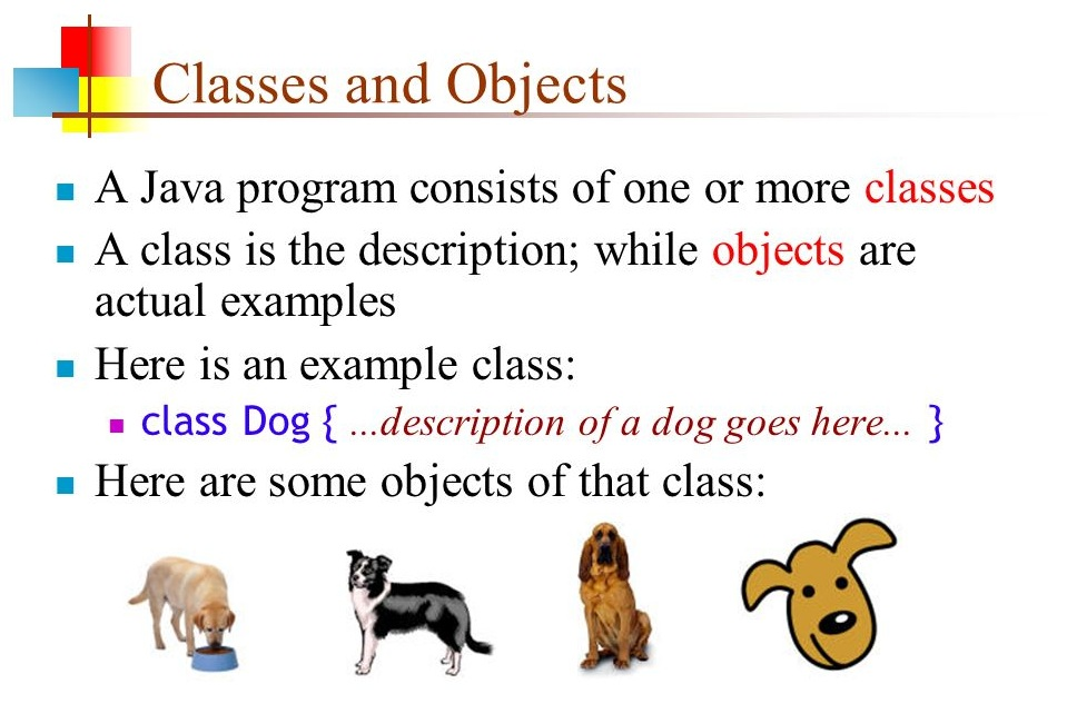 Java Classes And Objects (OOP) Notes